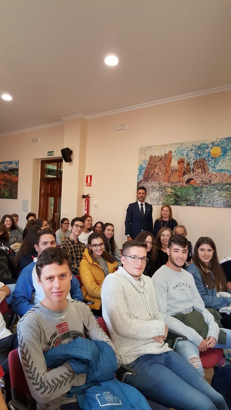 En el Colegio San Ignacio de Ponferrada